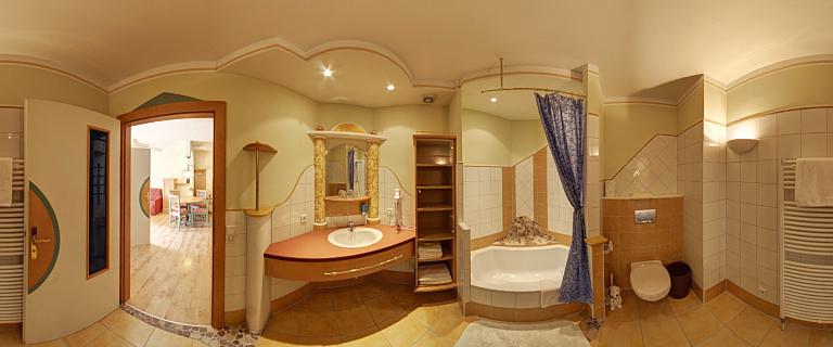 Italienisches Apartement Badezimmer