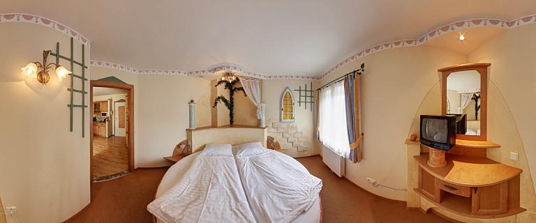 Italienisches Apartement Schlafzimmer